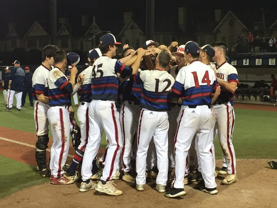 The third-seeded Governor Livingston baseball team won the Union County Tournament title with a 6-2 victory over top-seeded Westfield on Monday, May 14, 2018 at Kean University.