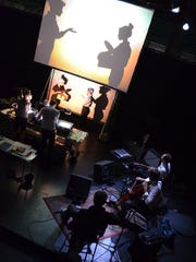 "Manual Cinema's ""Lula del Ray"" will combine overhead projectors, shadow puppets, actors in silhouette, and live music on Jan. 31 at the Theatre at Raritan Valley Community College in Branchburg."