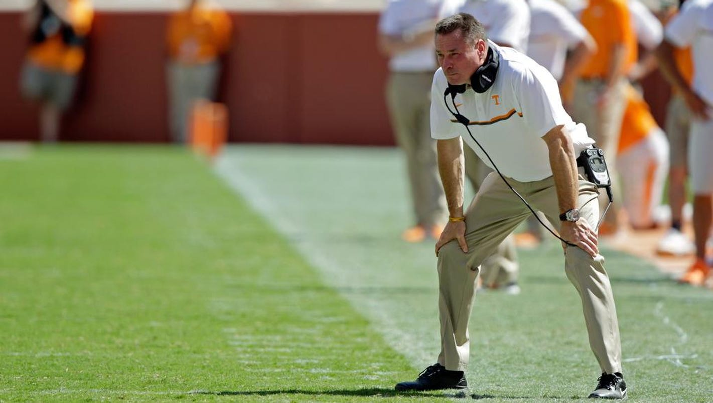 Vols Mistakes Have Butch Jones Pulling My Hair Out