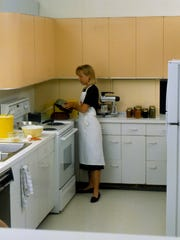 The 1980s Meredith Test Kitchen.