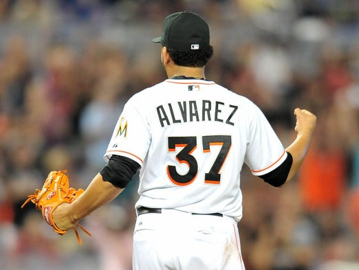 Miami Marlins pitcher Henderson Alvarez threw a no-hitter against the Detroit Tigers.