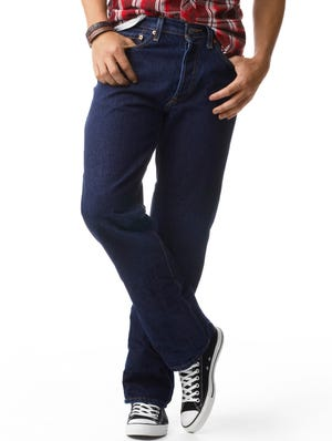 Levi's Red Tab 501 jeans.