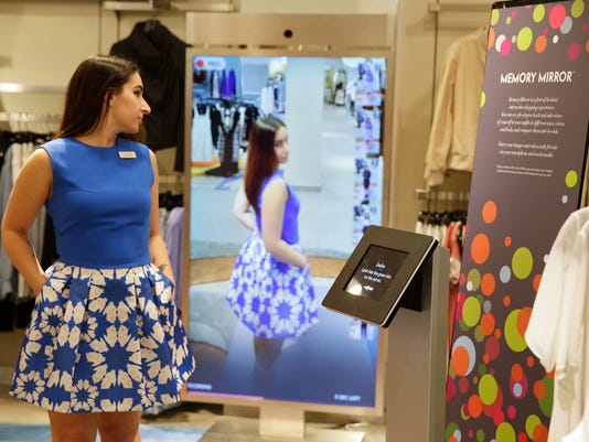High Tech Fitting Rooms