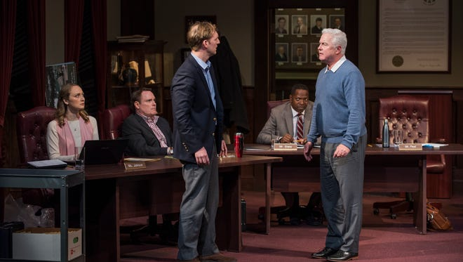 """In Tracy Letts' """"The Minutes,"""" an American town confronts a painful secret from its past."""