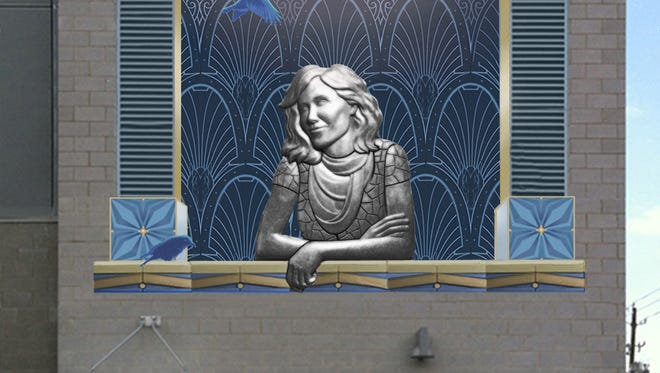 This is winning design for the 51 Biltmore Public Art Project.
