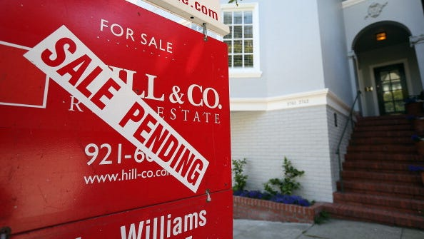 Home sales may be  stabilizing after several months of declines.