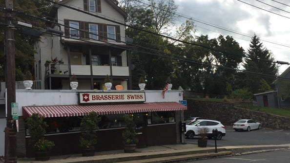 Building with Brasserie Swiss in Ossining is for sale by owners and restauranteurs
