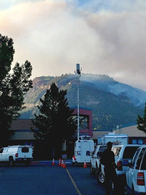 Verizon Wireless deployed a Satellite Picocell on a Trailer (SPOT) to provide enhanced 4G LTE voice and data coverage to assist emergency crews at the base camp of the 416 Fire.