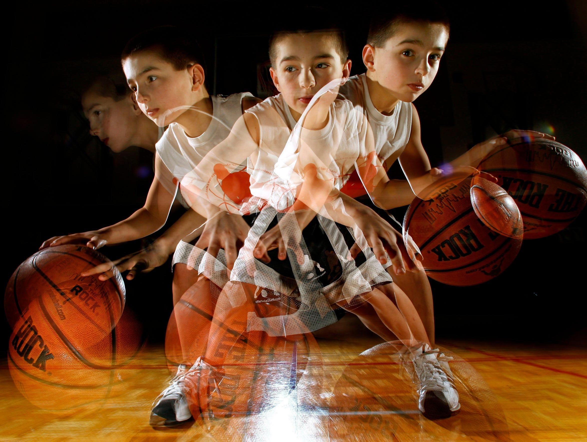 Jordan McCabe at 10 years old. The Kaukauna standout