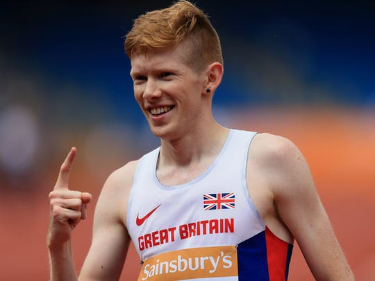 Tom Bosworth of Great Britain  came out to the world