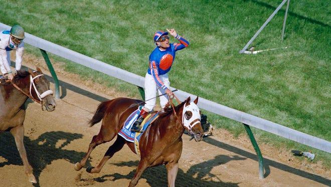 Thunder Gulch, sired by champion sprinter Gulch, won the 1995 Kentucky Derby.