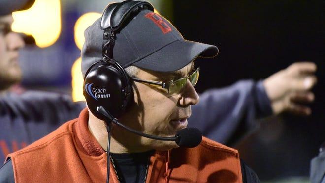 Coach Ed Nasonti led Bellevue to two postseason victories last year.