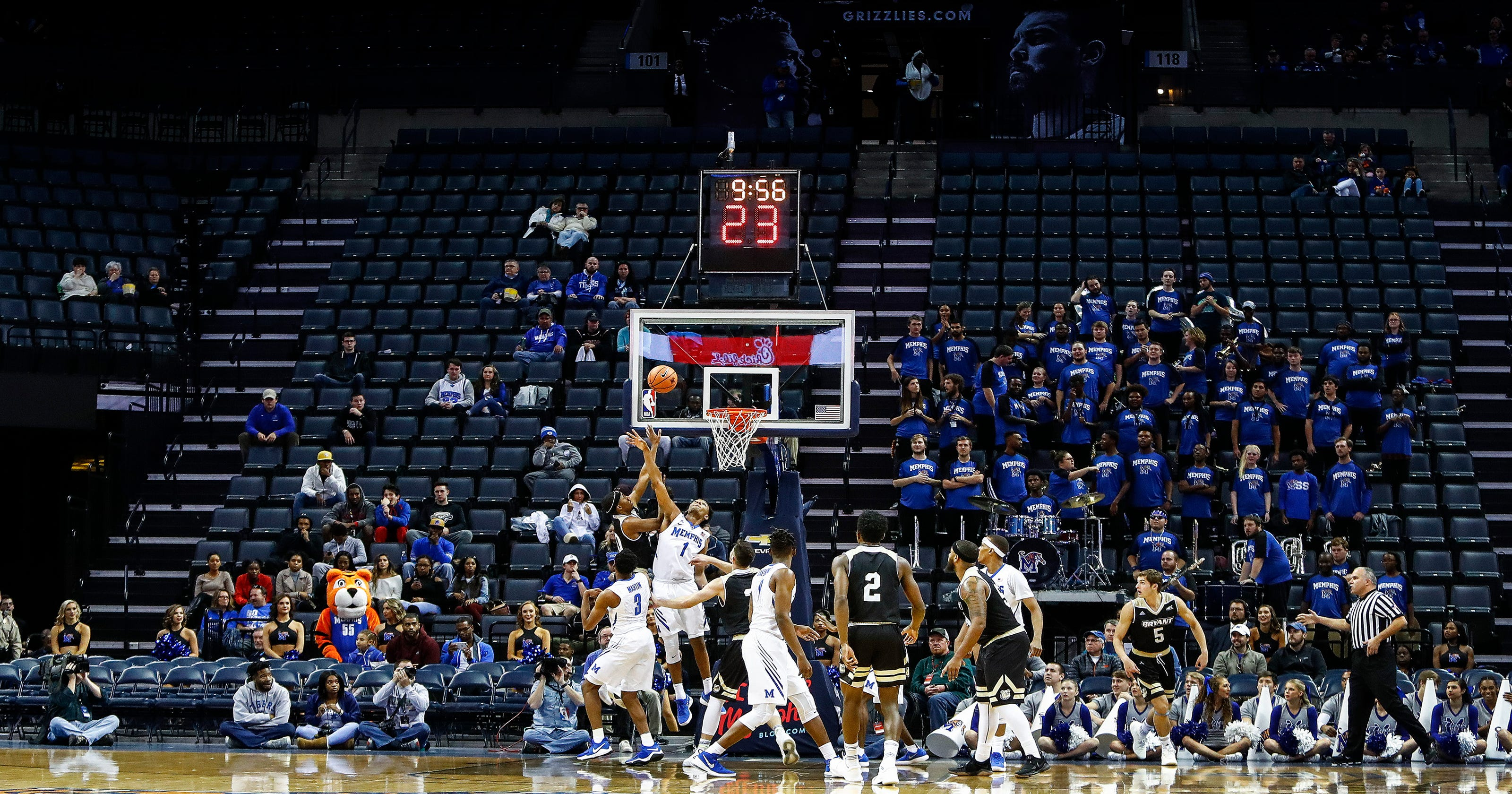 memphis tigers may miss grizzlies payment over basketball attendance