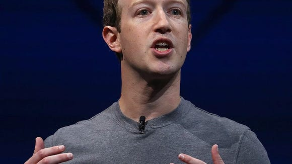 Facebook CEO Mark Zuckerberg says breaking up social network wouldn't help