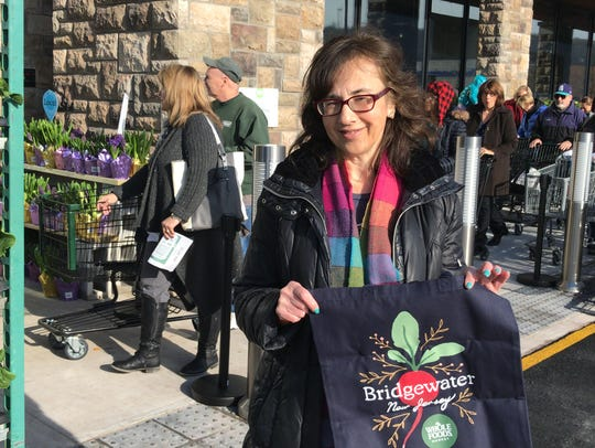 Warren resident Maryse Bloom was among the first 250