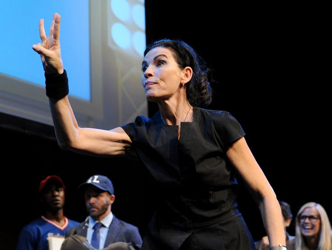 'The Good Wife' actress Julianna Margulies was just