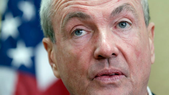 New Jersey Gov.-elect Phil Murphy speaks during a news conference in Newark on Monday, Nov. 13, 2017. Murphy joined with Democratic members of Congress from New Jersey to voice opposition to the tax reforms being pushed by the Trump administration.