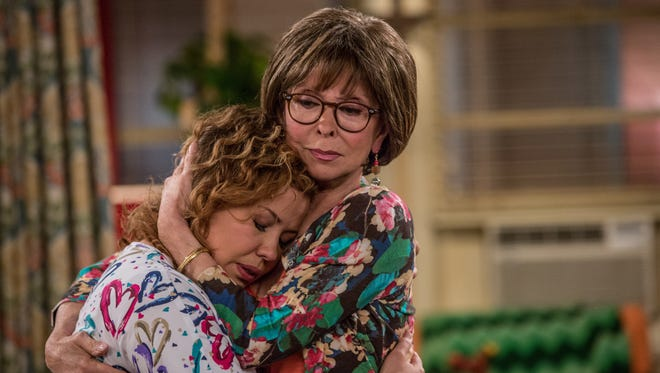 Rita Moreno, right, and Justina Machado play mother and daughter in a new Netflix version of Norman Lear's comedy 'One Day at a Time.'