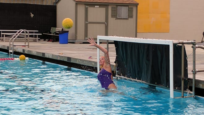 Ventura High goalie Melisa Walk gets plenty of action when playing against Channel League powers like Santa Barbara and Dos Pueblos.
