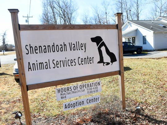 The Shenandoah Valley Animal Services Center located