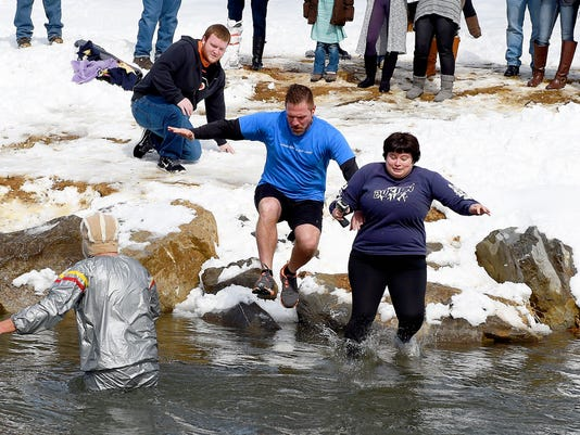 Polar Plunge into Waynesboro's South River-MAIN