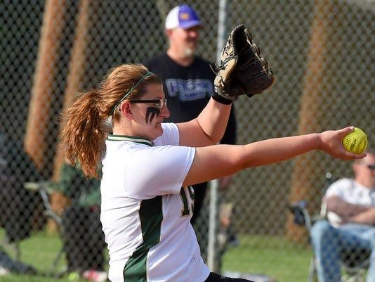 Waynesboro at Wilson Memorial softball