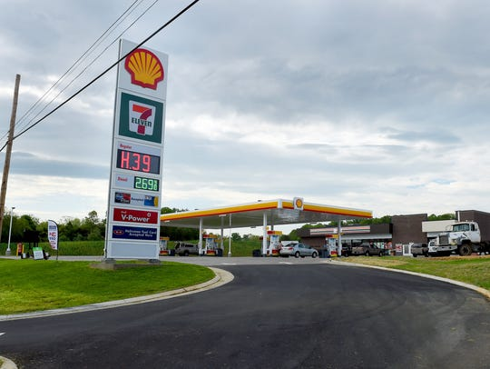 7-Eleven opened at its new location at the corner of