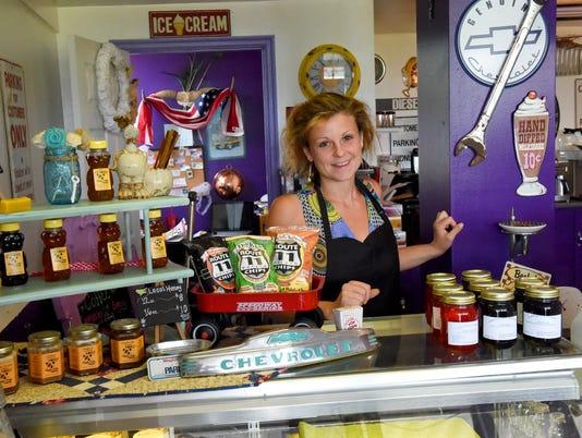 Purple Cow Ice Cream Parlor