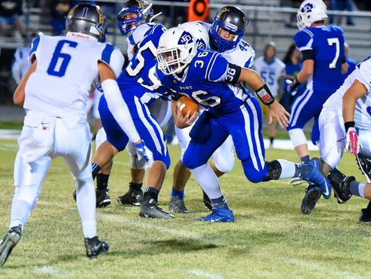 Spotswood at Fort Defiance football