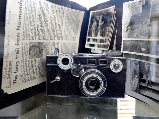 "An Argus C-3 camera once owned and carried by World War II soldier David Hotchkiss is among items on display in ""The Story of Virginia"" museum, located inside Wilderness Adventure in Staunton."