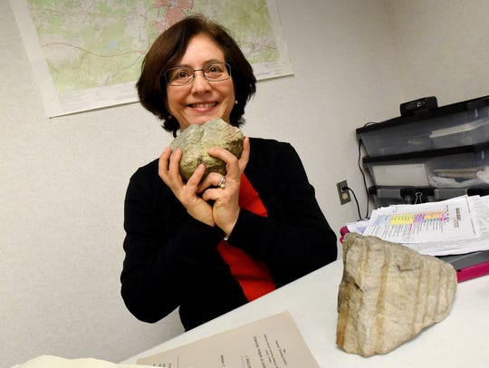 Science major Angela Nebel of Piedmont Virginia Community