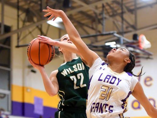 Wilson Memorial at Waynesboro girls basketball