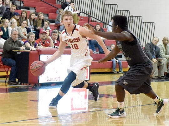 Riverheads' Brett Hostetler, left, was a second-team All-Conference 44 selection last year.