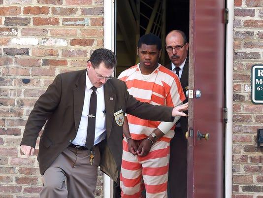 Isaiah D. Stuart sentencing hearing