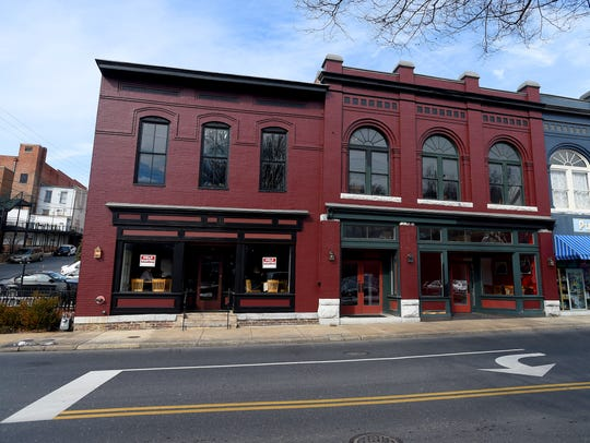 The former location of Joe's Steakhouse at 19 W. Johnson St. in downtown Staunton. Acoustic Taphouse took over in September and is now set to close.