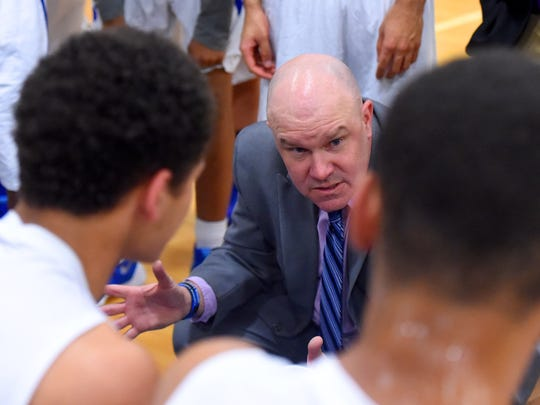 Jarrett Hatcher was named an assistant coach at Bridgewater College Tuesday.