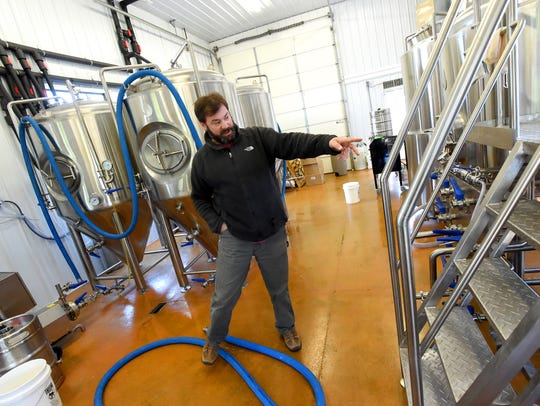 Owner Craig Nargi talks about the brewery at Stable