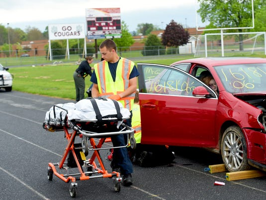 SADD club's Mock Crash at SDHS