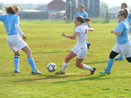 Page County at Stuarts Draft girls soccer