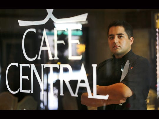 Aldo Mora is the chef at Cafe Central.