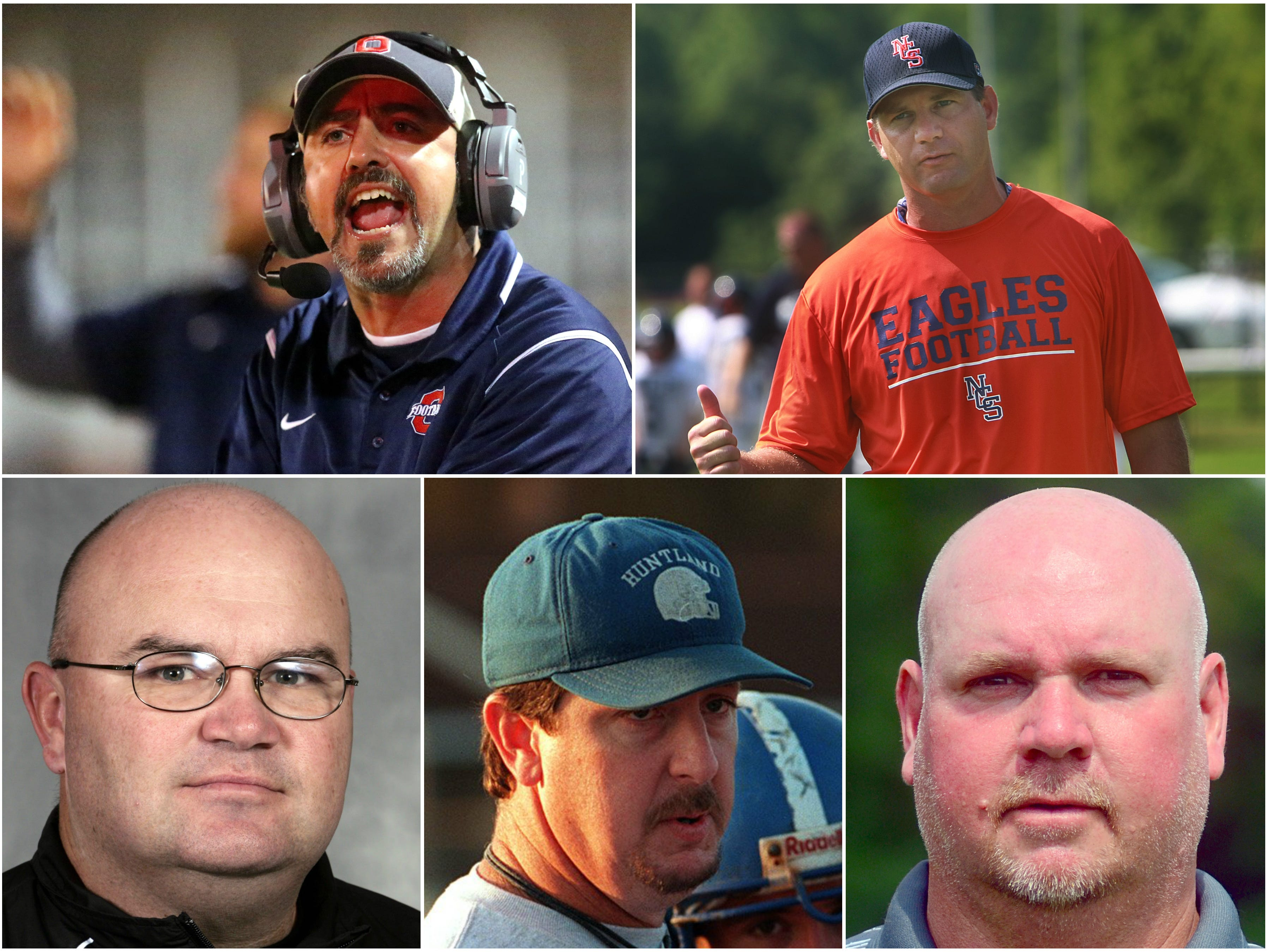 C – Century mark. Five coaches – Beech's Anthony Crabtree (94-40), Huntland's Bob Robertson (94-107), Giles County's David O'Connor (93-32), Nashville Christian's Jeff Brothers (92-62) and Oakland's Kevin Creasy (91-14) – are within reach of their 100th career victory.