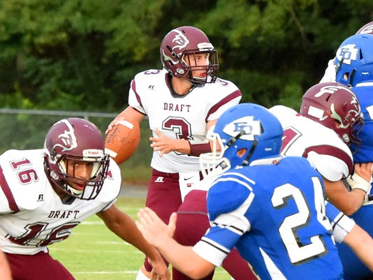 Stuarts Draft at Fort Defiance football