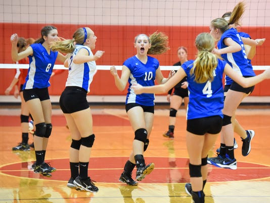 Fort Defiance at Riverheads volleyball