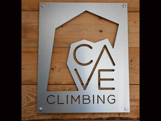 Cave Climbing Gym is at 113 Executive Center Blvd.