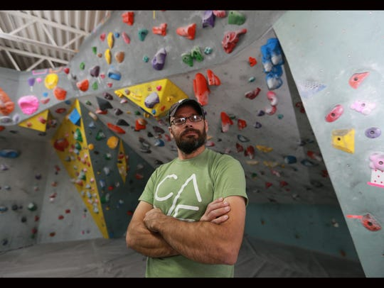 Ben Waggoner is the owner of Cave Climbing Gym.