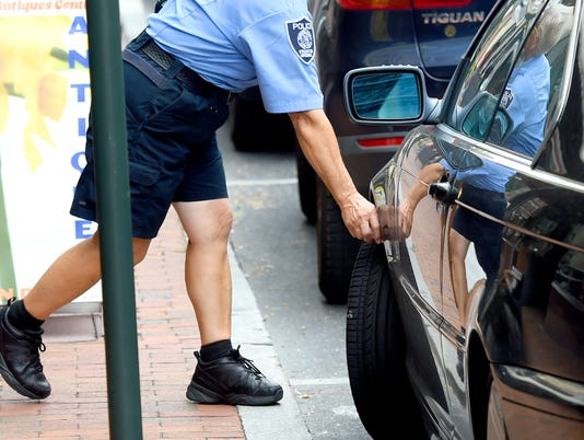 Parking enforcement and tickets