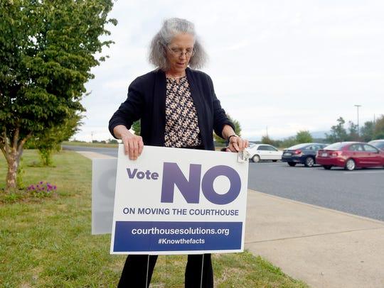 Susan Reed of the anti-referendum group Common Sense