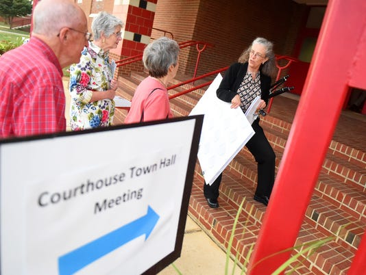 courthouse referendum  town hall meeting