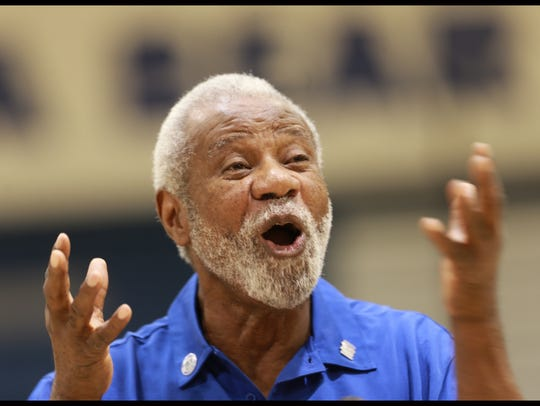 Nolan Richardson spoke about his experiences during