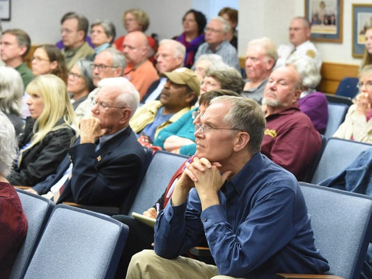 Augusta County courthouse forum